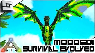 MODDED ARK: Survival Evolved - TAMING A POISON DRAKE! E3 ( Annunaki Genesis Gameplay )