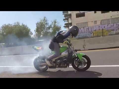 Bike Drifting Accident