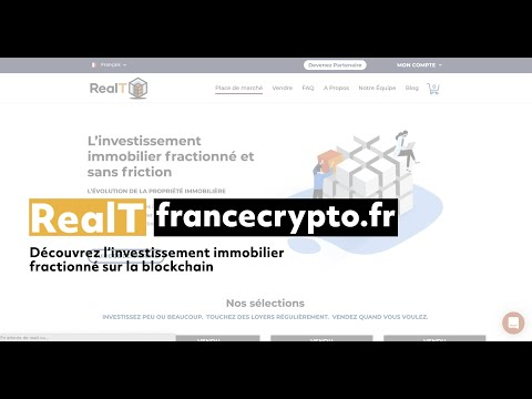 RealT - L'investissement immobilier tokenisé