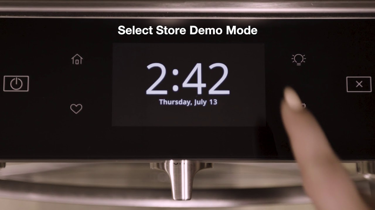 VIDEO: Entering and Exiting Demo Mode - Smart Appliances - Whirlpool