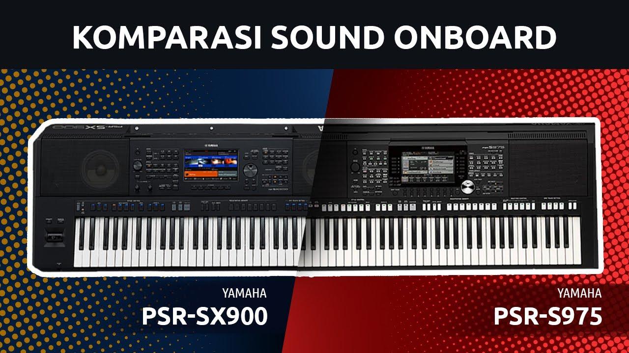 Komparasi Sound Onboard PSR-SX900 Dan PSR-S975