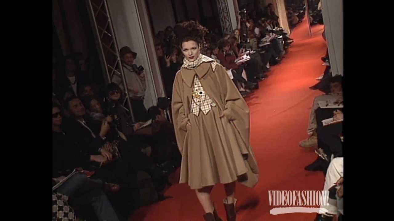 Vivienne Westwood Designer Biography Videofashion Vault Youtube
