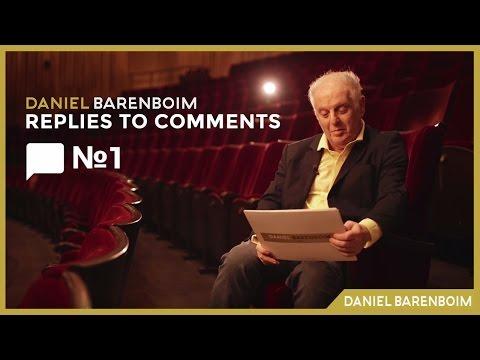Practice, Tempo & Bach - Daniel Barenboim | Replies To Comments No.1 [subtitulado]