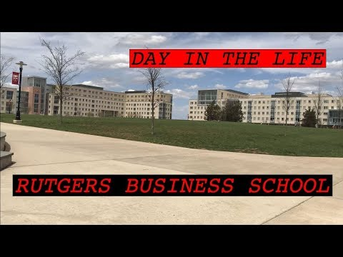 Another Day in the Life at RUTGERS BUSINESS SCHOOL