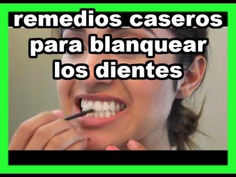 Resultado de imagen de remedio casero para blanquear los dientes