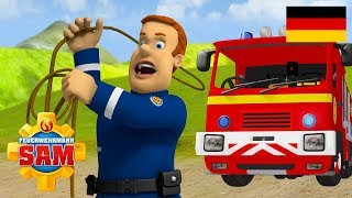 Feuerwehrmann Sam Deutsch Neue Folgen | Cowboy Fireman Sam -  40 minuten | Cartoons für Kinder