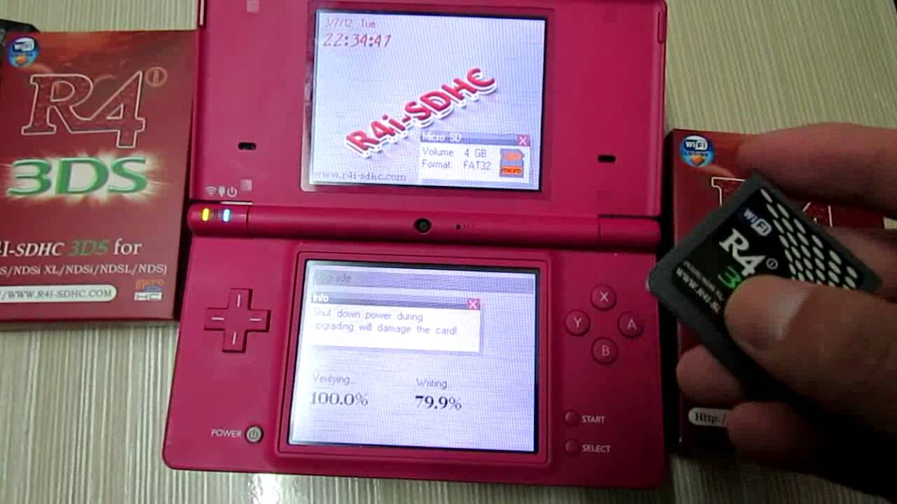 R4i-SDHC 3DS Card Firmware Upgraded for 3DS Ver 4 2 0-9 flv