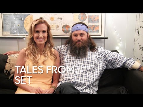 Tales From Set: Willie and Korie Robertson on