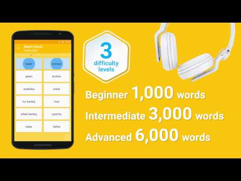 Learn Turkish Vocabulary – 6,000 Words 1