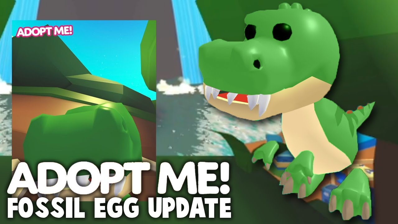 *NEW* T-Rex Pet In Adopt Me Fossil Egg Release! Adopt Me Pet Leaks For Fossil Egg Release Date