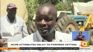 NCPB attributes delay maize purchase to vetting of farmers