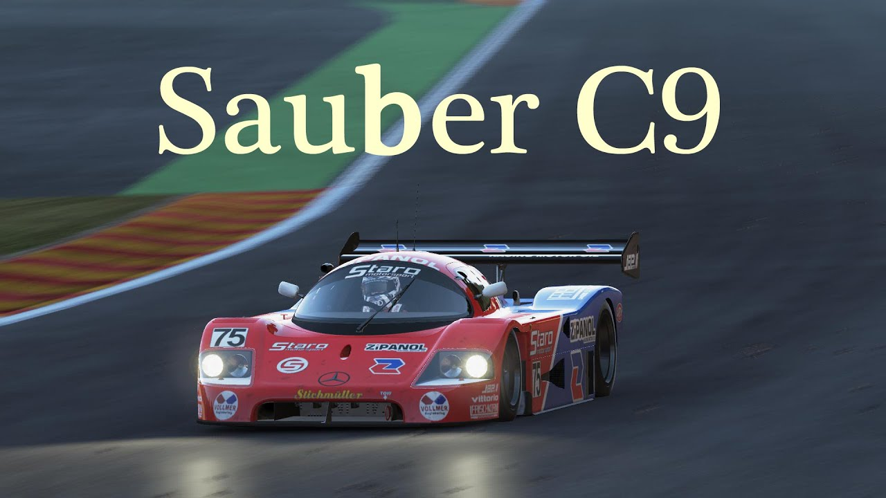project cars sauber c9 limited edition dlc youtube. Black Bedroom Furniture Sets. Home Design Ideas