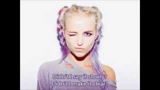Kyla La Grange - Cut Your Teeth (lyrics) 2014