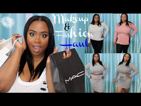 e06fed1baed Makeup   Plus Size Fashion Haul  MAC