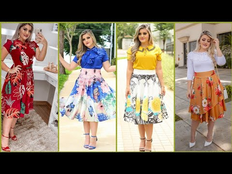 Gorgeous and beautiful stylish printed frock design 2019