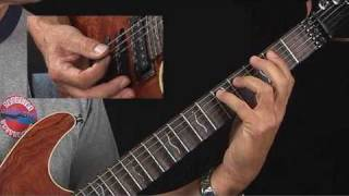 Blues Guitar Lessons - Boogie Woogie - Brad Carlton - Open Position Forms