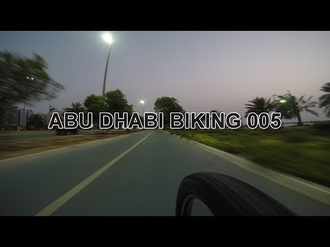 Abu Dhabi Biking 005: Marina Mall - Corniche ( Bike Path End-End)