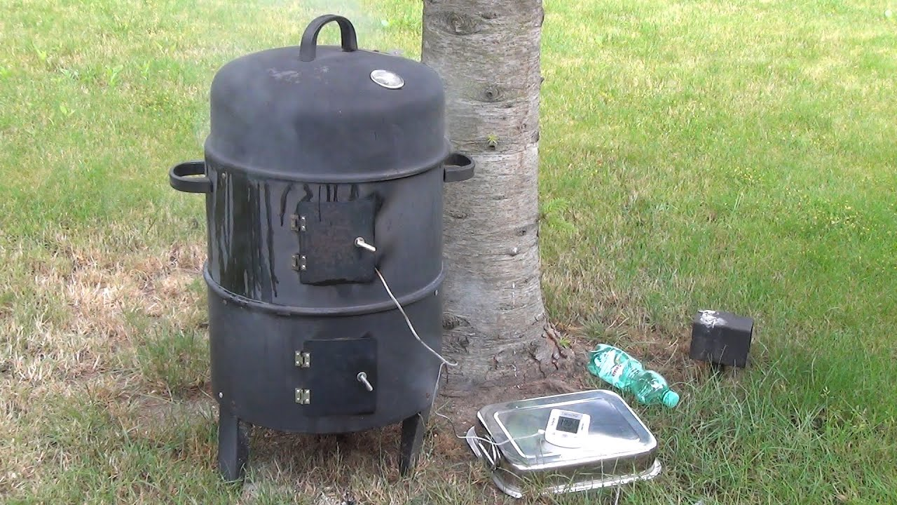 smoker tonne f r 30 euro bbq grill smoker test pulled pork aus der 3 in 1 youtube. Black Bedroom Furniture Sets. Home Design Ideas