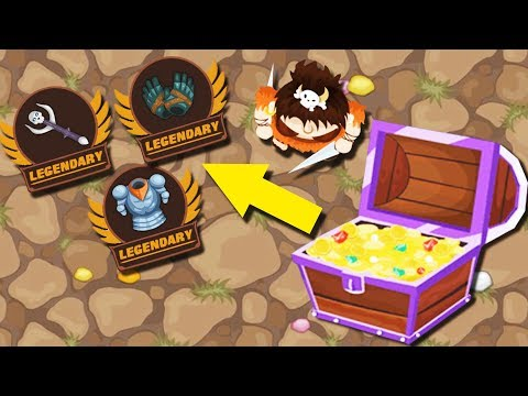 Opening Overpowered Legendary Loot Chests In Minigiants.io