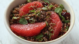 How to Make: Quinoa and Grapefruit Salad