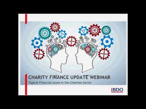 Charity Finance Webinar 2017