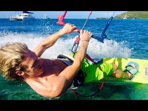 Kiteboarding in Nin - Croatia