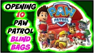 New Paw Patrol Micro Lites  Toys - 10 Blind Surprise Bags to open! Yay! Who do we find? So Much Fun!