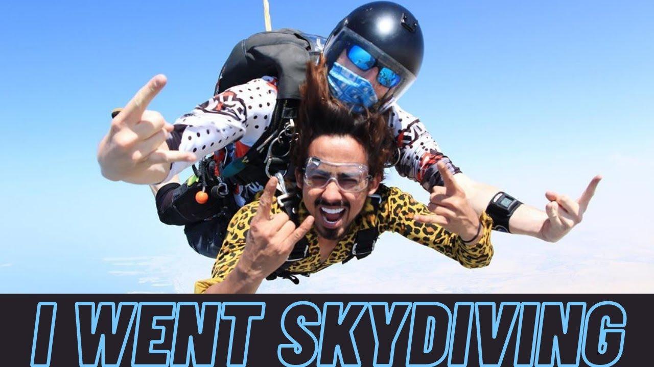 I Went Skydiving | Dubai Vlog | Adnaan 07 | Team 07