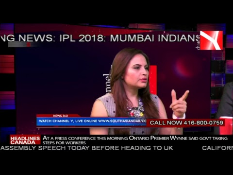South Asian 360 Live Discussion with Yudhvir Jaswal (CEO & Group Editor of Y Media)/17th April 2018