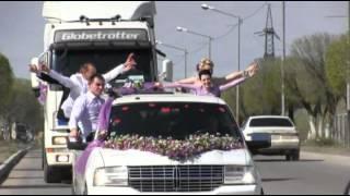 Самый лучший свадебный кортеж в Капчагае