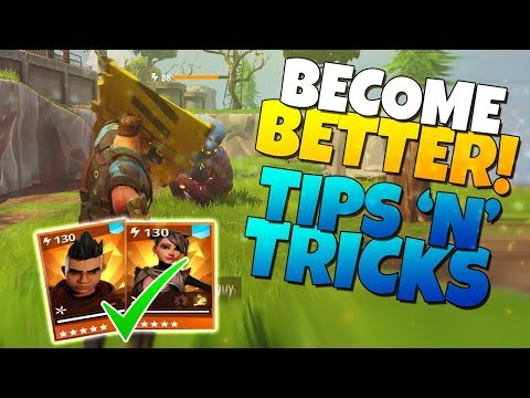BECOME BETTER! Tips 'N' Tricks! | Fortnite Save The World
