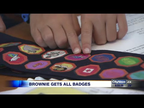 Rare Accomplishment For Determined Brownie
