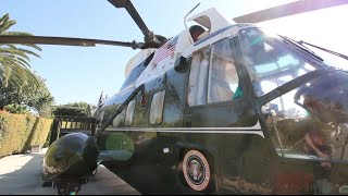 Infamous President Richard Nixon Helicopter & Grave