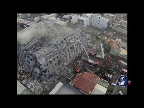 海峡论谈:关注南台湾大地震