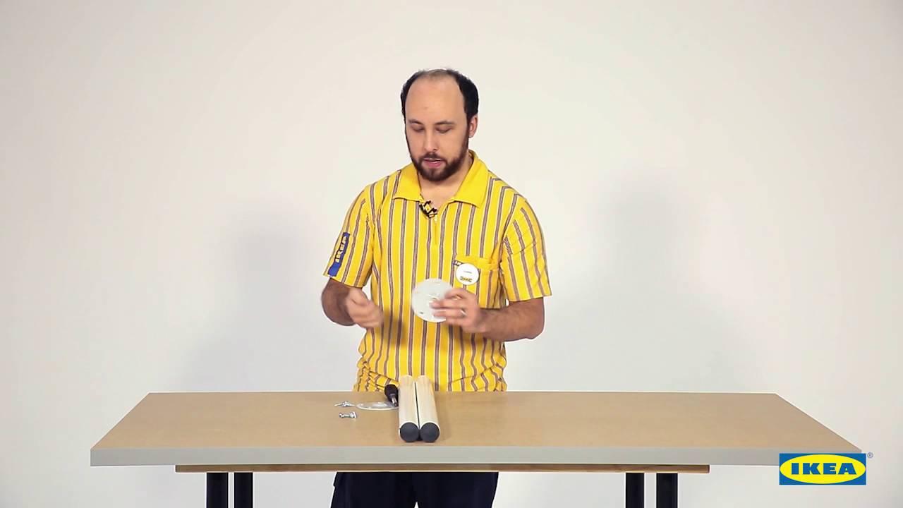 Instrucciones De Montaje Del Tablero Linnmon Ikea Youtube