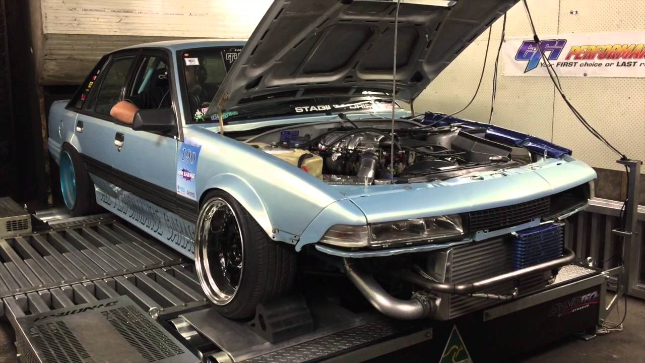 All Performance Garage Holden Commodore Vl Drift Car Youtube