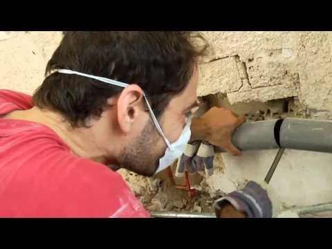 Πώς κόβω σωλήνα PVC. How to cut PVC pipe.
