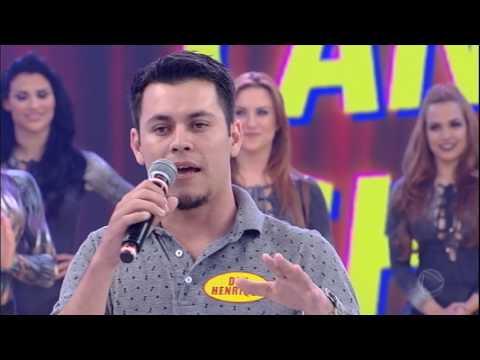 Candidato imita Marcos Mion e Marcelo Rezende no Canjica Show