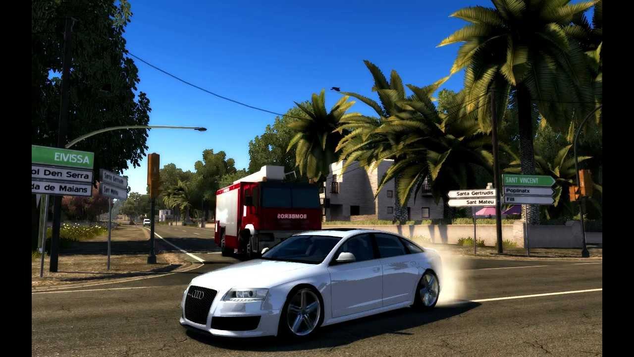 Tdu 2 Audi Rs6 Sedan Mod Youtube