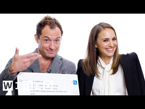 Natalie Portman & Jude Law Answer the Web's Most Searched ...