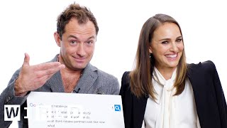 Natalie Portman & Jude Law Answer The Web's Most Searched Questions   Wired