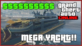 ESPLORIAMO IL SUPER YACHT MODIFICATO (10.000.000 $!) GTA 5 Online
