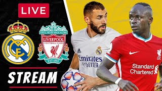 REAL MADRID vs LIVERPOOL - LIVE STREAMING - Champions League Quarter Final - Football Watchalong