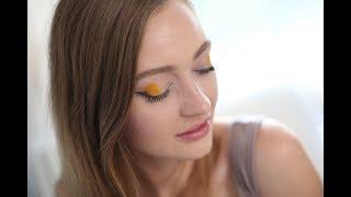 Геометрический макияж глаз: видеоурок