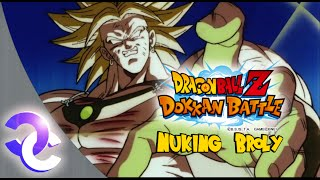 DBZ Dokkan Battle - NUKING BROLY - One shot kill!