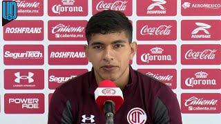 Kevin Castañeda comentó que en Toluca deben estar enfocados en ganar los siguientes tres puntos para seguir en la parte alta del torneo