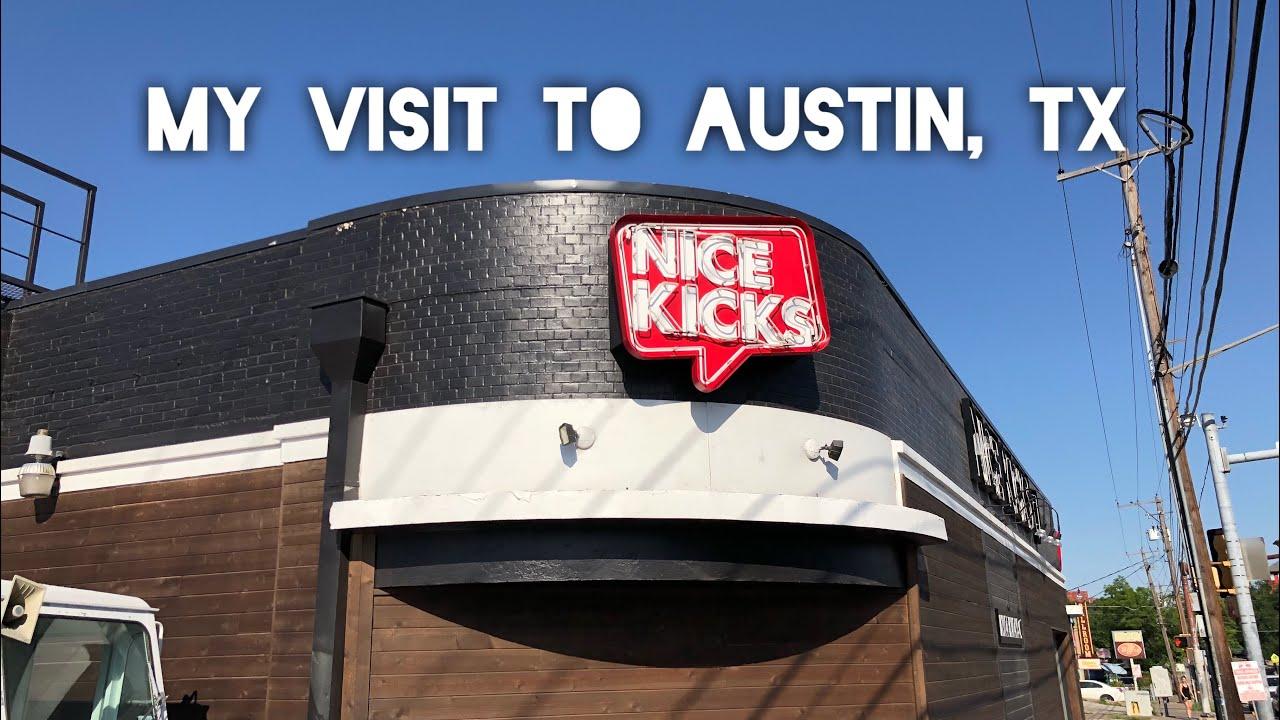 detailed look 8ad38 5e972 Vlog at Nike Round Rock Outlet   Nicekicks Austin, Tx