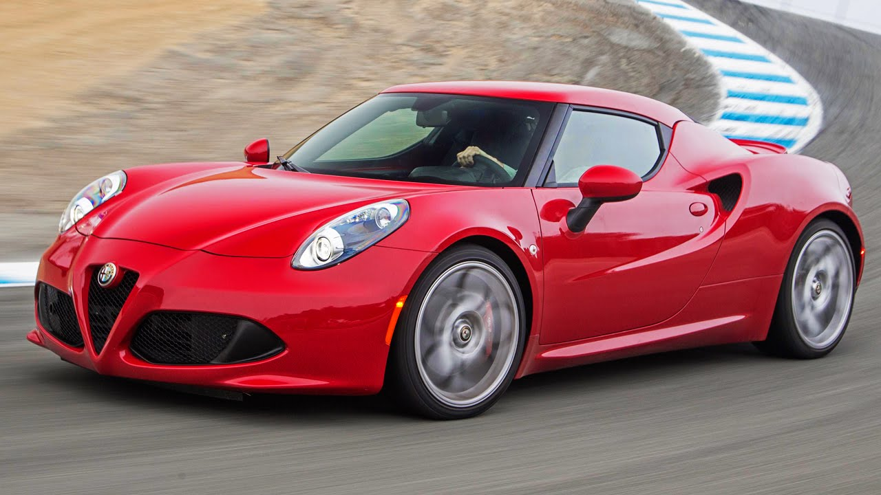 2015 Alfa Romeo 4c Hot Lap 2014 Best Driver S Car