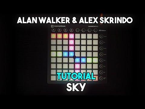 Alan Walker & Alex Skrindo - Sky // Launchpad MK2 Tutorial