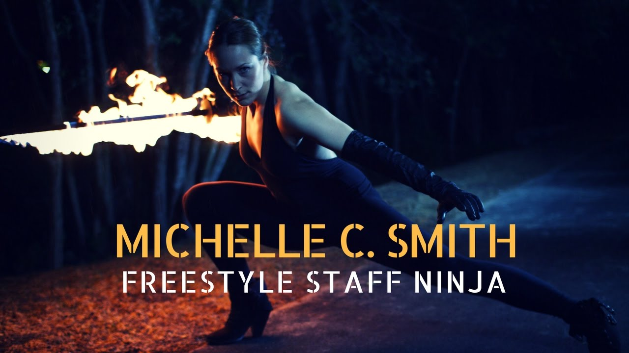 Michelle C. Smith - FREESTYLE STAFF NINJA